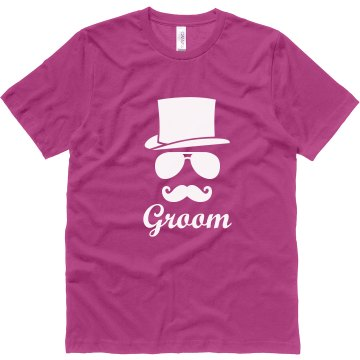 Groom Mustache Hat Shirt