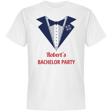 Groom to Be Bachelor Tshirt