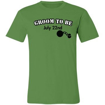 Groom To Be Tee