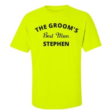 Groom's Best Man