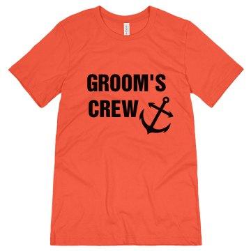 Groom's Crew Nautical