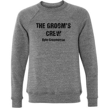 Groom's Crew Sweatshirt