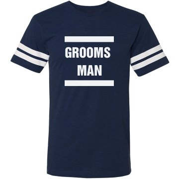 Grooms Man Bachelor Party Shirt