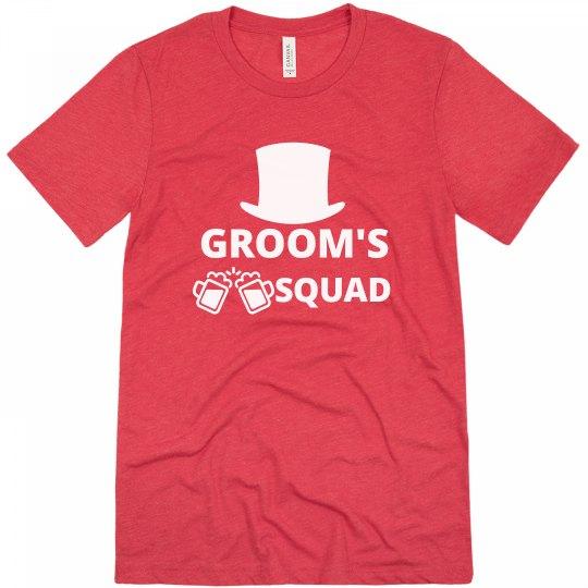 Grooms Squad Tshirt