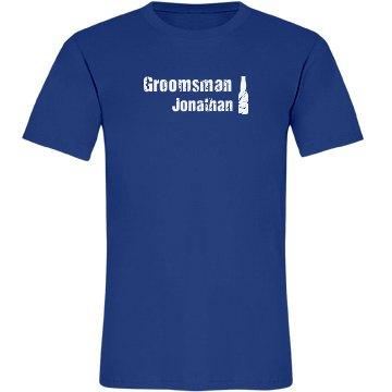 Groomsman Beer Tee