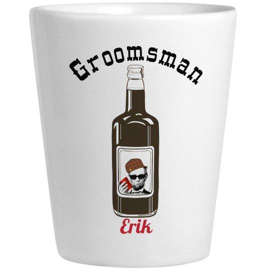 Groomsman Shot Glasses