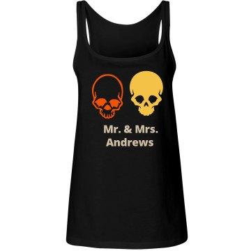 Halloween Wedding Tshirts Tank Tops