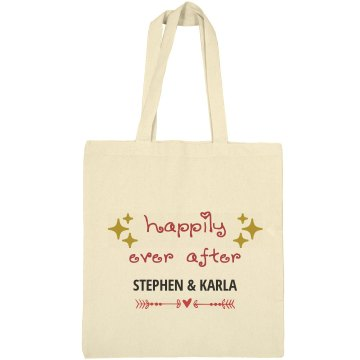 Happily Ever After Welcome Bags Tote