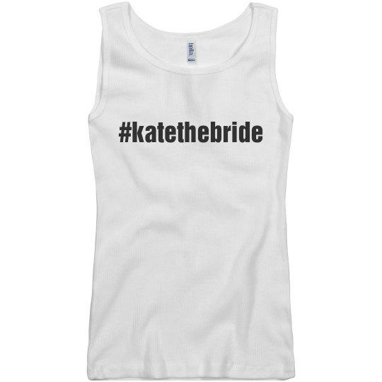 Hash Tag Bride Tank
