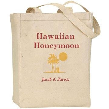 Hawaiian Honeymoon Tote