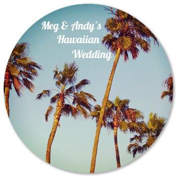 Hawaiian Wedding Photo