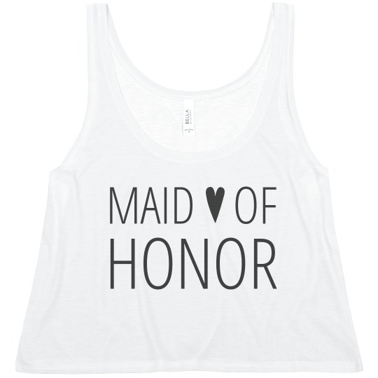 Heart Maid of Honor