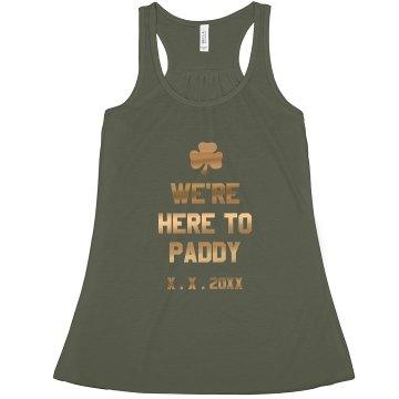 Here To Paddy BFachelorette