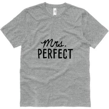 His Mrs. Perfect Matching Newlywed Shirt