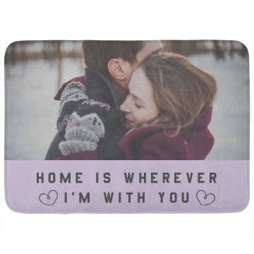Home Is Wherever Couples Home Decor