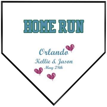 Home Run Plaque
