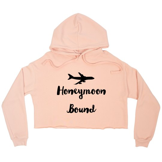 Honeymoon Bound Cropped Hoodie