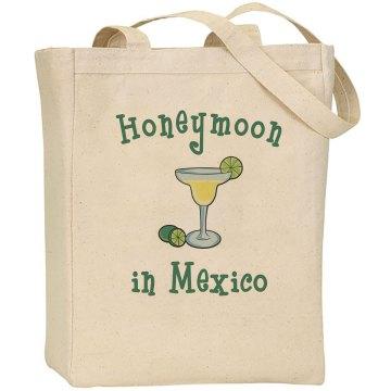 Honeymoon in Mexico Tote