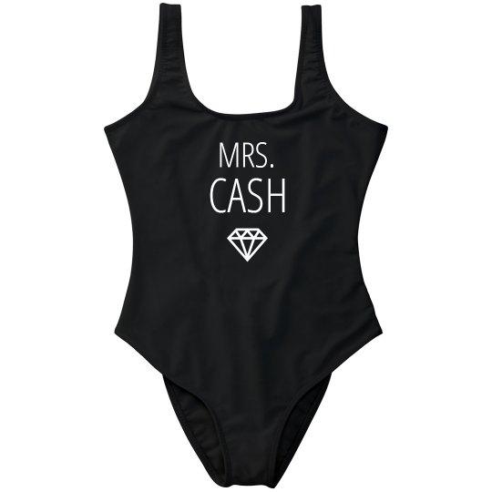 Honeymoon Mrs. Cash Swimwear