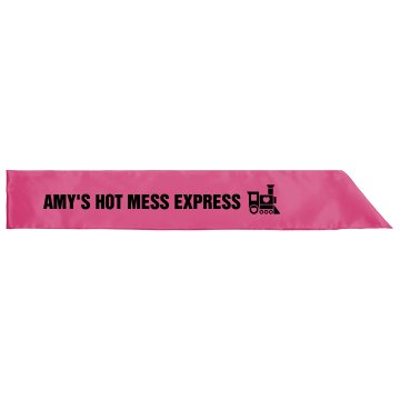 Hot Mess Sash