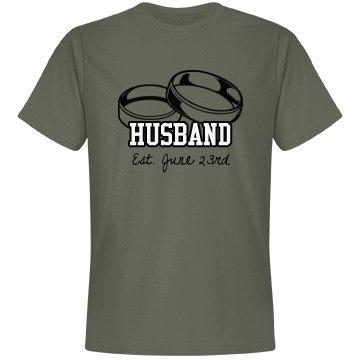 Husband With Wedding Date