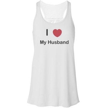 I Love My Husband Tank