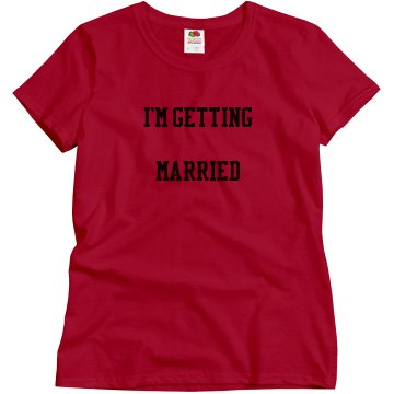 I'm Getting Married (Who's Next)