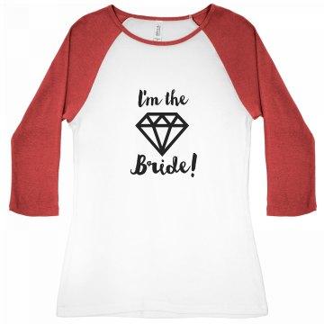 I'm the Bride Diamond Tee