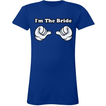 I'm The Bride Tee