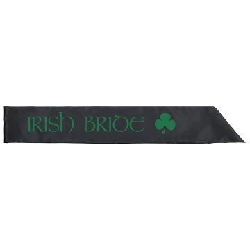 Irish Bride Shamrock