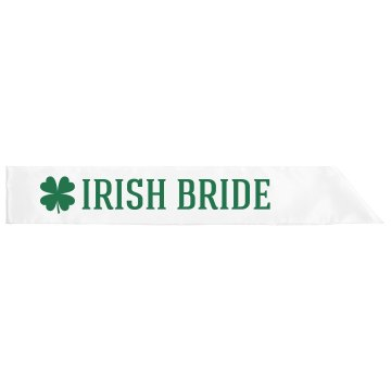 Irish Bride St Pats Girl