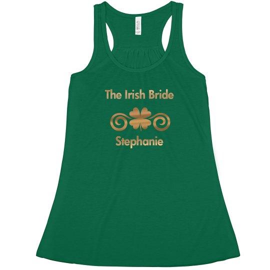 Irish Bride Tank Top