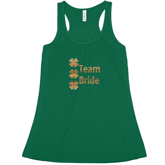 Irish Team Bride Tshirt