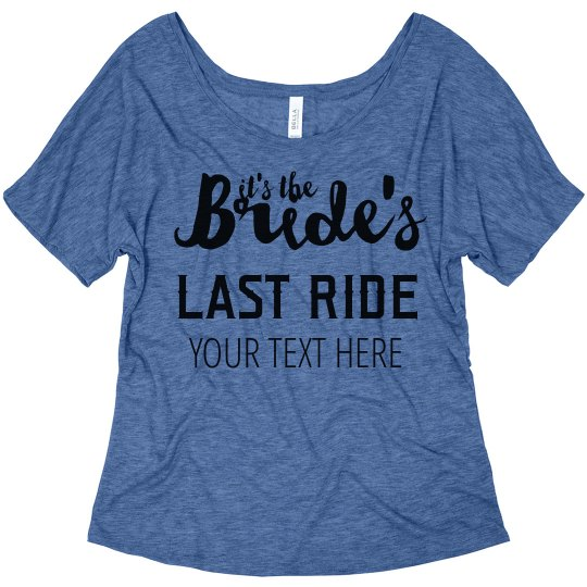 It's The Bride's Last Ride Nashville