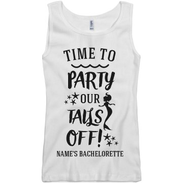 It's Time To Party Our Tales Off!