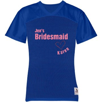 Jen's Bridesmaid Jersey