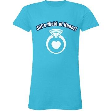 Jill's Maid Of Honor