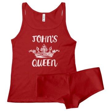 John's Queen Matching Set