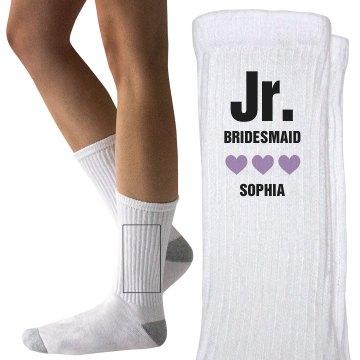 Jr. Bridesmaid Hearts