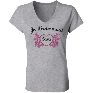 Jr Bridesmaid w/ Name