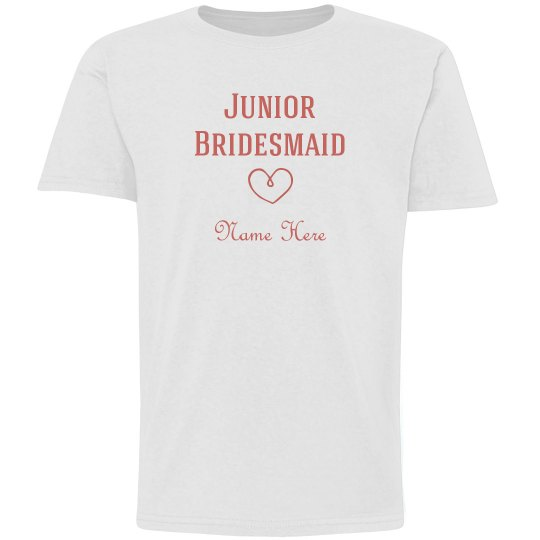 Junior bridesmaid graphic