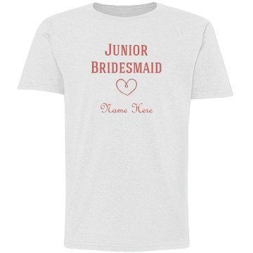 Junior bridesmaid graphic