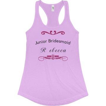 Junior Bridesmaid Tanktop