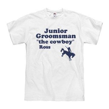 Junior Groomsman Cowboy