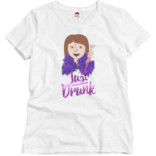 Just Drunk Emoji Bachelorette