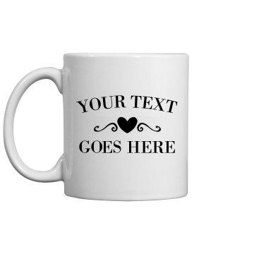 Just Married Create A Custom Mug