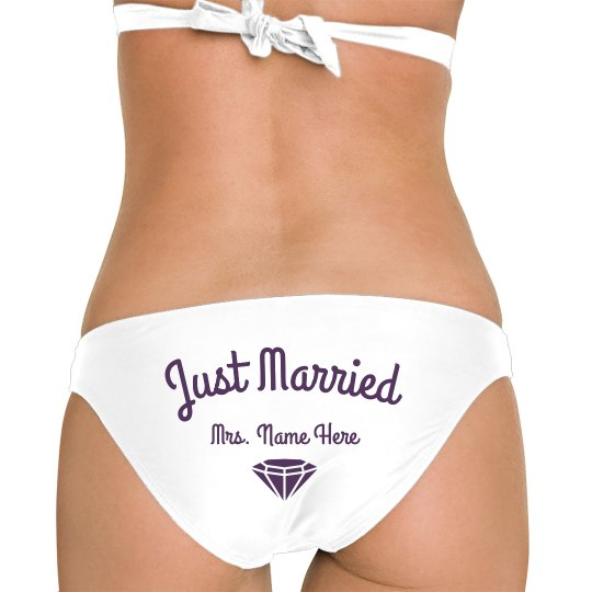 Just Married Diamond