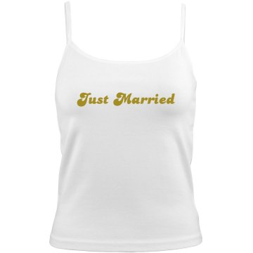 Just Married Honeymoon
