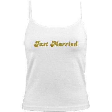 Just Married Honeymoon