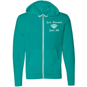 Just Married Hoodie